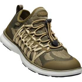 Keen Uneek Exo Shoes Herrer, dark olive/antique brass